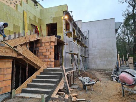 Rozbudowa istniejącej szkoły 1
