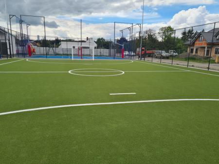 modernizacja boiska sportowego w Kowanówku 1