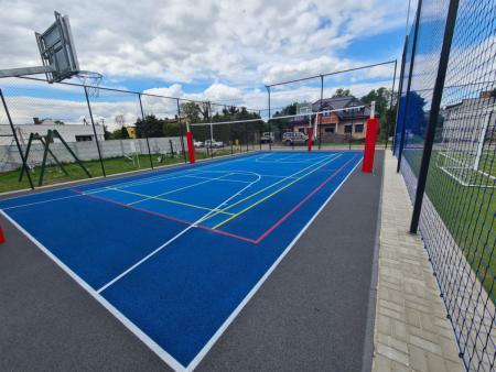 modernizacja boiska sportowego w Kowanówku 2
