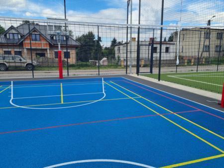 modernizacja boiska sportowego w Kowanówku 3