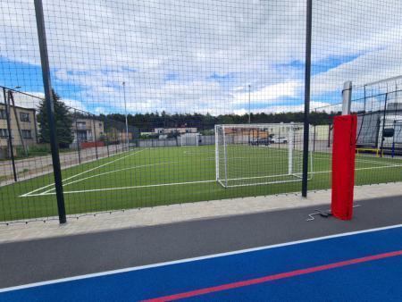 modernizacja boiska sportowego w Kowanówku 4