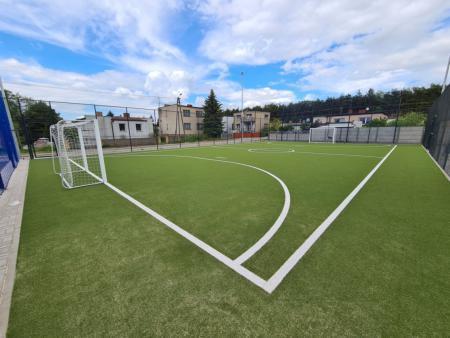 modernizacja boiska sportowego w Kowanówku 5